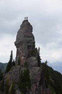Benj & Kili auf dem Turm