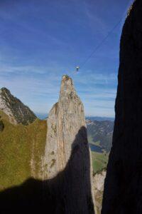 Bernhard auf der 55m langen Verve von LC